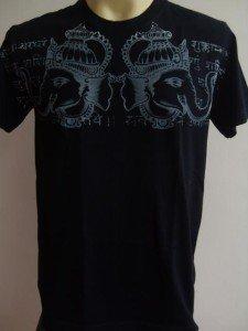 Ganesha Ganesh Men T Shirt OM Hindu India black M 18068 3648