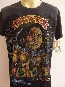 Minute Mirth Space  Revolution Tattoo Men T-shirt Black L