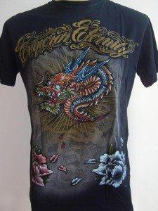 Emperor Eternity Glittering Dragon Tattoo T shirt  M L 17068 4031