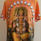 Ganesha Ganesh Pancha Mukha Ganapati पञ्चमुख Men T-Shirt OM Hindu India L G16