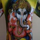 Ganesh Shakti Ganpati OM God Hindu Green L