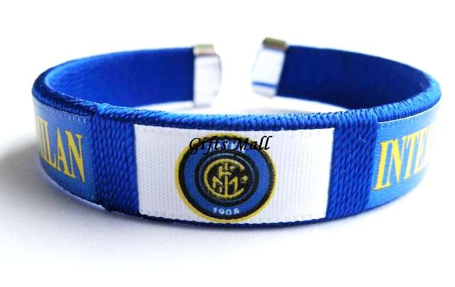 Inter Milan FC Club Football Sport Adjustable Bangle Bracelet New