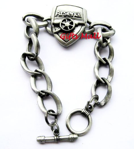 Arsenal FC Club Football Sport Metal Bangle Bracelet New