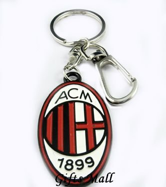 AC Milan Football FC Sports Metal Key Chain Key Ring New