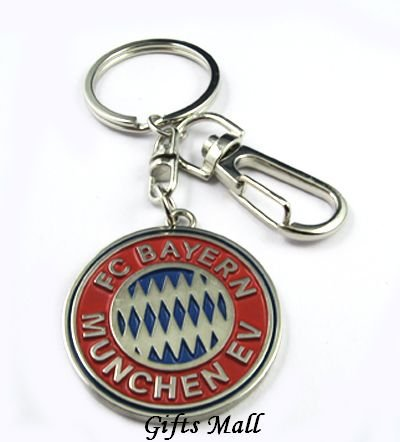 Bayern Munich Football FC Sports Metal Key Chain Key Ring New
