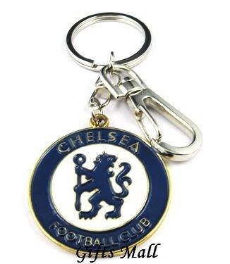 Chelsea Football FC Sports Metal Key Chain Key Ring New