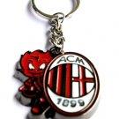 AC Milan Football Sport FC Club Metal Key Chain Ring