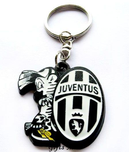 Juventus Football Sport FC Club Metal Key Chain Ring