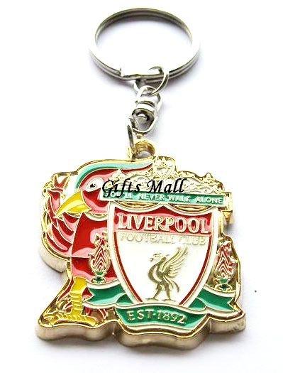 Liverpool Football Sport FC Club Metal Key Chain Ring