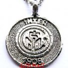 Inter Milan FC Club Football Sport Soccer Alloy Necklace