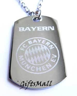 Bayern Munich  FC Club Football Sport Soccer Dog Tag Necklace