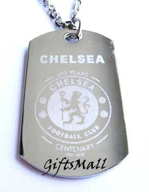 Chelsea  FC Club Football Sport Soccer Dog Tag Necklace