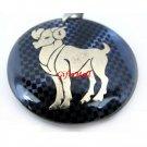 Horoscope Zodiac Constellation Blue Necklace Pendant Aries