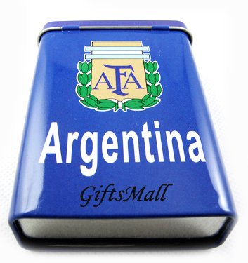 Argentina FC Club  Football Sports Cigarette Case Box