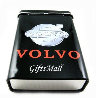 Metal Smoker Cigarette Case Box Holder Volvo