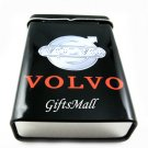 Metal Smoker Cigarette Case Box Holder Volvo