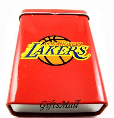 Metal Smoker Cigarette Case Box Holder Cigarette Case NBA Lakers