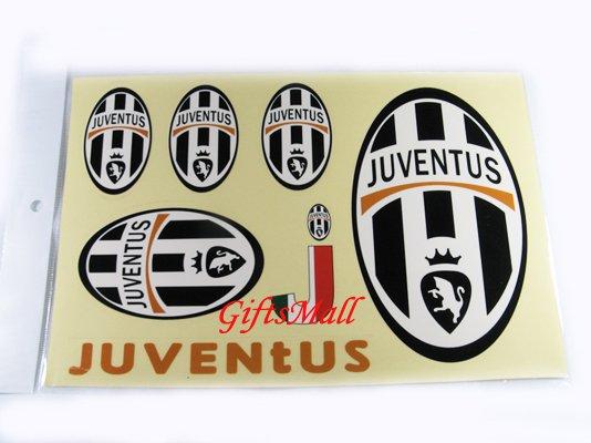 FC Club Sports Football Car Sticker Juventus