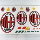 FC Club Sports Football Car Sticker AC Milan