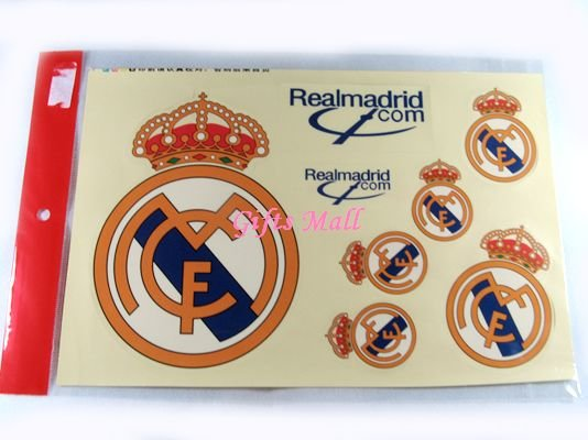 FC Club Sports Football Car Sticker Real Madrid