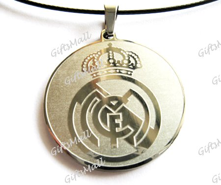 Stainless Steel FC Club Football Sport Necklace Pendant Real Madrid