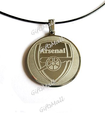 Stainless Steel FC Club Football Sport Necklace Pendant Arsenal