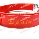 Spain FC Club Football Sport Adjustable Bangle Bracelet New
