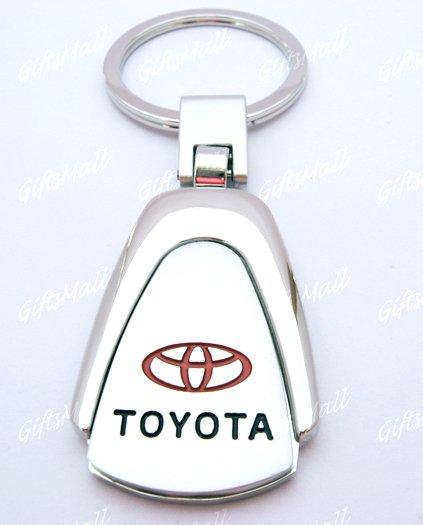 Toyota Car Chrome Keyring Key Chain New