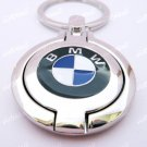 BMW Bilateral Car Chrome Keyring Key Chain New