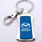 Mazda Car Chrome Keyring Key Chain New