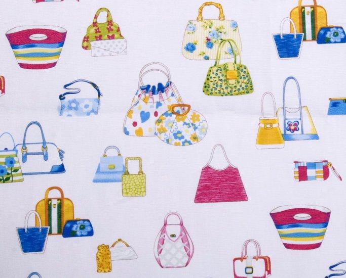 Cut Bags-blue//cotton//oxford