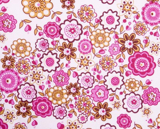 Pink flower in garden