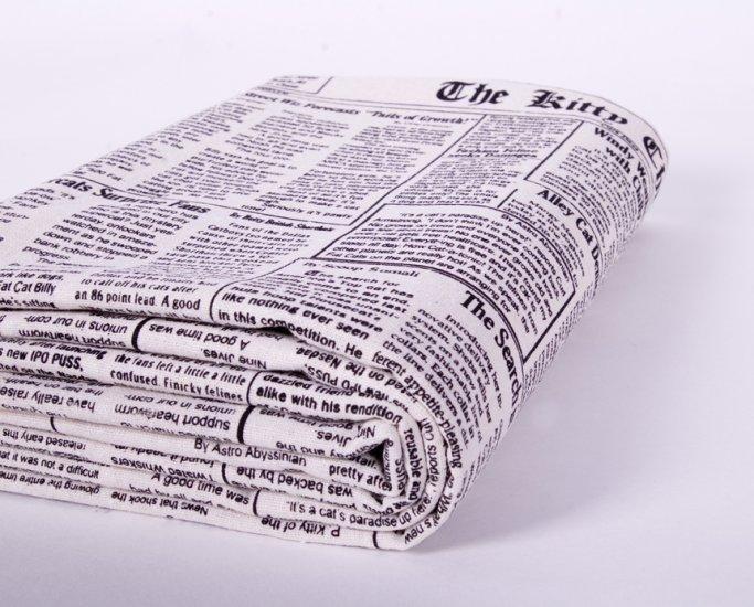 vintage newspaper//linens//