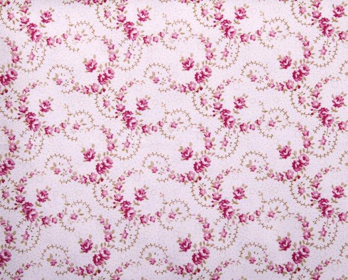 Floral plain weave//cotton//30s