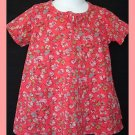 Oilily Girl Birdie Blah Blah S-Rosa Dress 92 2T