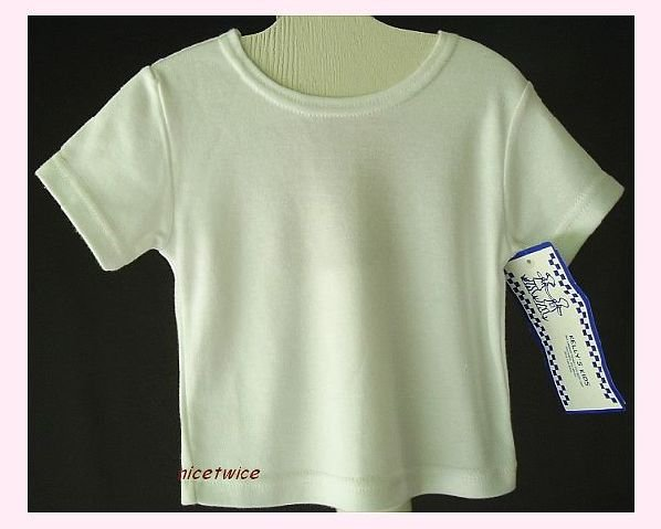 KELLYS KIDS Girl SS New White Tee Tshirt 18 M