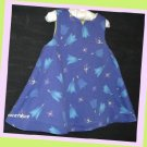 Morese Girl Blue Tulip Dress Lined 18 M 81 EUR