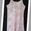 Oscar de la Renta Short Coral Sexy Nightgown S