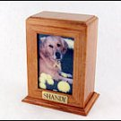 Framed Photo Urn - Vertical