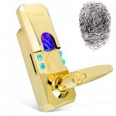 Fingerprint + Access Code Door Lock (Gold Edition)