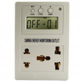 Saving Energy Usage Monitor and Power Outlet Controller