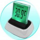 Three Setting LED Alarm Clock - Multi Color Display
