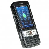 Quad Band Touchscreen Cell Phone - Dual SIM Worldphone (Black)