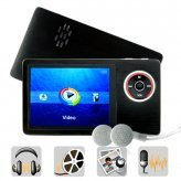Youtube 8GB Digital Media Player (Plays MP4 + MP3 + FLV + More)