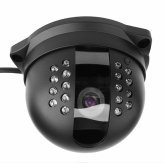 1/3 Inch SONY Dome Camera - 18 LED IR Surveillance -PAL
