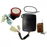 Motorcycle Security Alarm and Immobilizer System with Remote