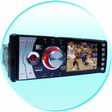 3.5-Inch TFT Car DVD and TV Player - USB Port + SD/ MMC/ MS Slot