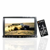 Super Sound 2-Din Car Video Audio DVD Player with Bluetooth