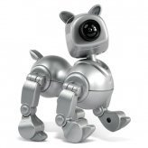Posable Dog Web Cam - Computer Video Camera (Silver)