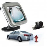 Car Rear View Parking System Camera with Color Monitor and Sensors